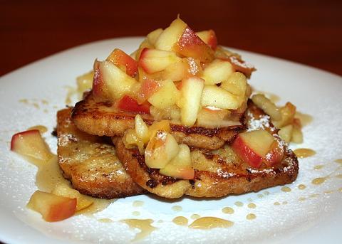 Jablková žemľovka bez pečenia - recept postup 6