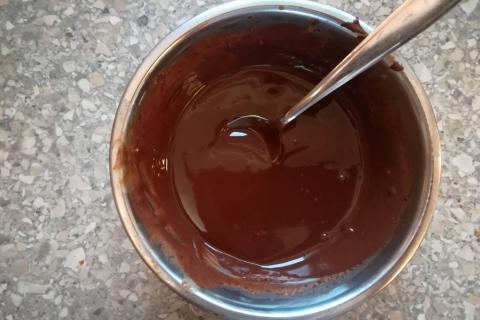 Maková torta s jablkovou náplňou - recept postup 6