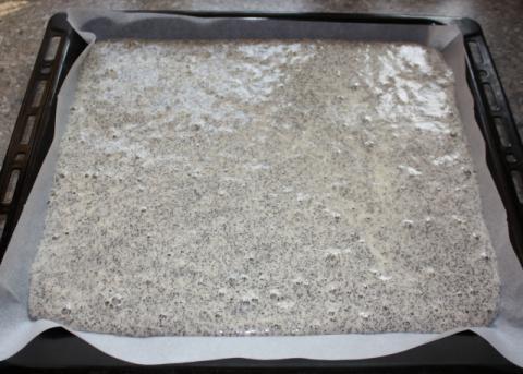 Výborný makový koláčik - recept postup 2