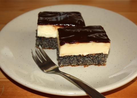 Výborný makový koláčik - recept postup 7