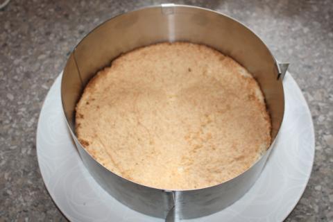 Mandľovo smotanová torta bez múky - recept postup 3
