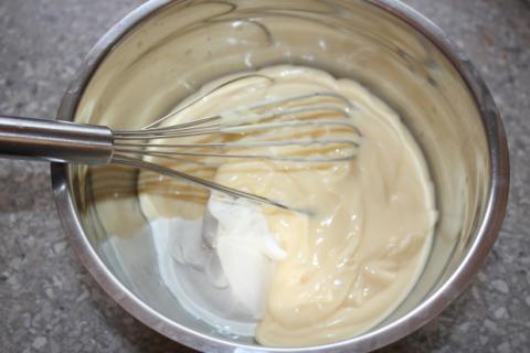 Mandľovo smotanová torta bez múky - recept postup 4