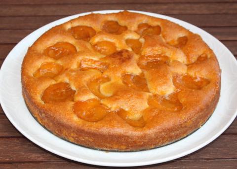 Marhuľový koláč - recept postup 13