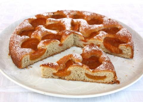 Marhuľový koláč - recept postup 14