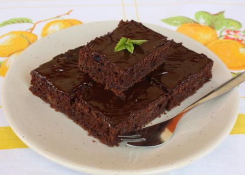Rýchly marhuľový koláč - recept postup 6