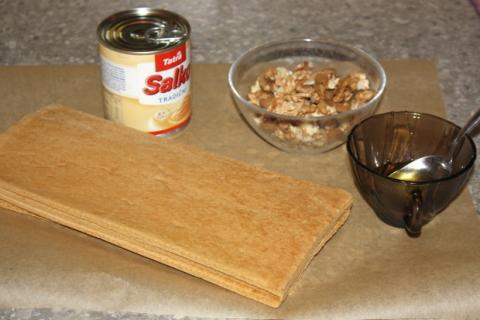 Rýchle medové guličky - recept postup 1