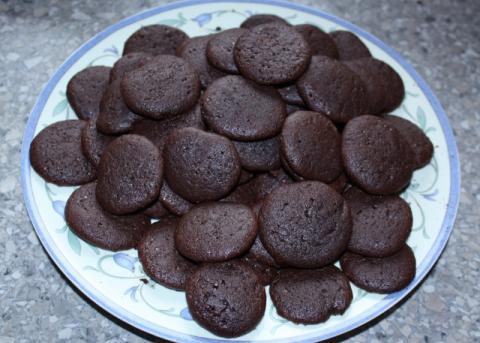 Mini čokoládové koláčiky - recept postup 4