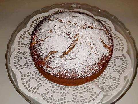 Ricottový koláč s nektárinkou | Recept | Fabio C
