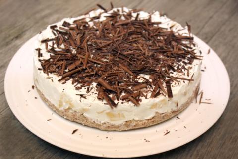 Nepečená smotanovo ananasová torta bez múky - recept postup 8