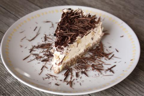 Nepečená smotanovo ananasová torta bez múky - recept postup 9