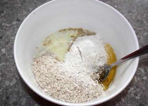 Nepečený čokoládový koláč - recept postup 4