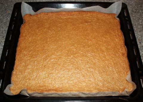 Orechovo - tvarohový koláč bez múky  - recept postup 3