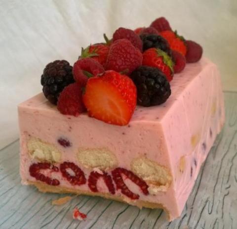 Svieži ovocný dezert ♥ - recept postup 1