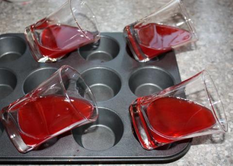 Efektný ovocný pohár - recept postup 5