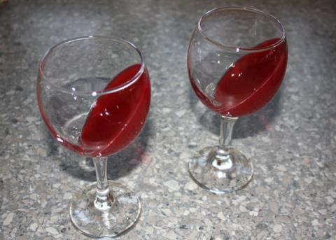 Efektný ovocný pohár - recept postup 7