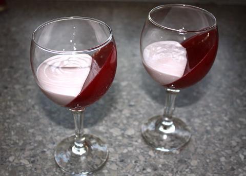 Efektný ovocný pohár - recept postup 9