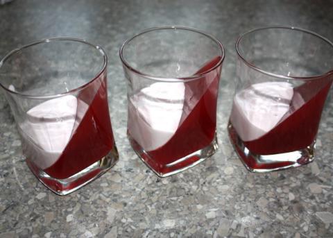 Efektný ovocný pohár - recept postup 10
