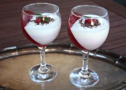 Efektný ovocný pohár - recept postup 12