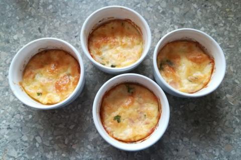 Syr pečený v rúre - recept postup 1