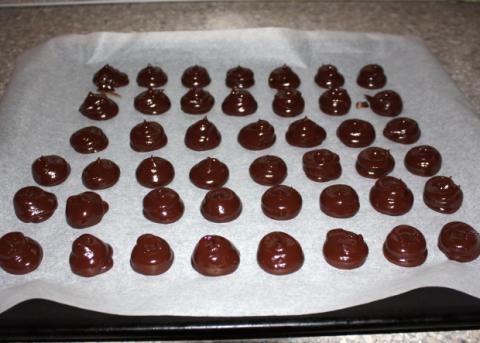 Domáce truffle - recept postup 11