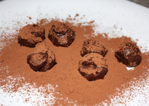 Domáce truffle - recept postup 13