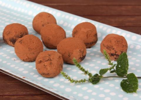 Domáce truffle - recept postup 14