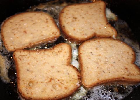 Jablková žemľovka bez pečenia - recept postup 5
