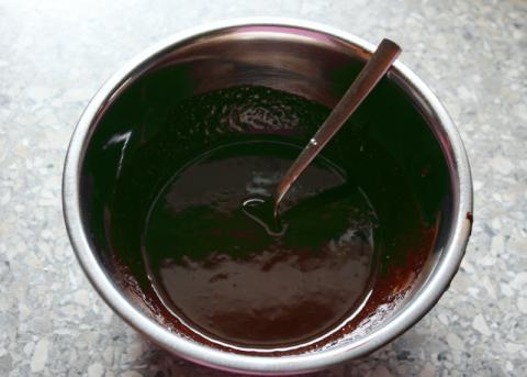 Raw  čokoládovo kokosové košíčky - recept postup 1