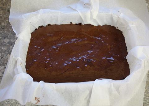 Čokoládový zákusok bez cukru a pečenia - recept postup 4
