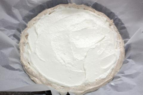 Ríbezľový koláč s tvarohom - recept postup 5