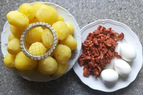 Francúzske zemiaky ako ich robím ja - recept postup 1