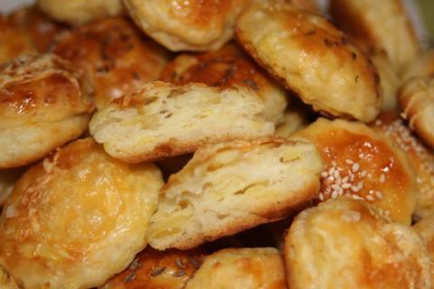 Výborné zemiakové pagáče - recept postup 1