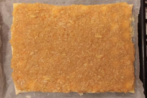 Jablkový krémeš s piškótami - recept postup 3