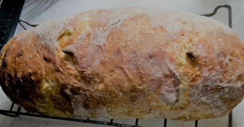 Tekvicový chlieb - recept postup 1