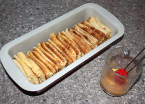 Škoricový trhanec - recept postup 10