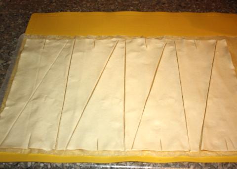 Rožky so syrom a šunkou - recept postup 2