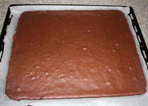 Výborný čokoládový zákusok - recept postup 4