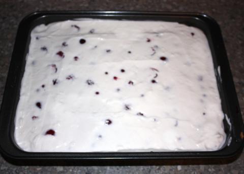 Fantastický ovocno - smotanový zákusok - recept postup 8