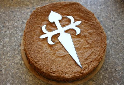 Torta de Santiago - recept postup 6