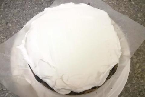 Božská čučoriedkovo tvarohová torta - recept postup 7