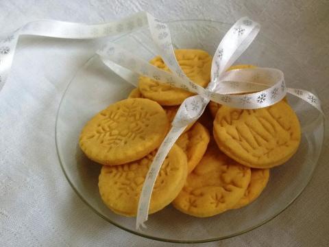 Pečiatkové keksíky... - recept postup 1