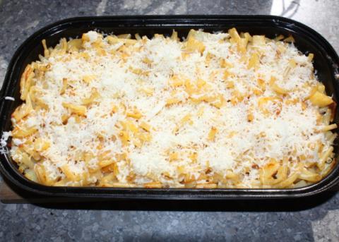 Zapekané cestoviny so zemiakmi - recept postup 7