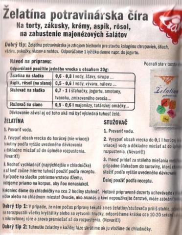 Svieži ovocný dezert ♥ - recept postup 4