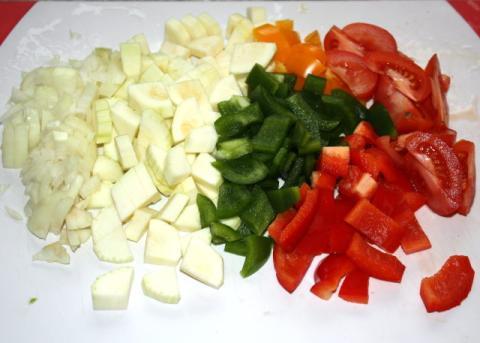 Ryba na masle s dusenou zeleninou - recept postup 1