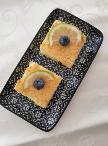 Magický 3 vrstvový vanilkový koláč - recept postup 1