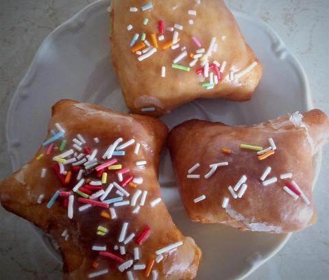 Donutky a šišky - recept postup 1