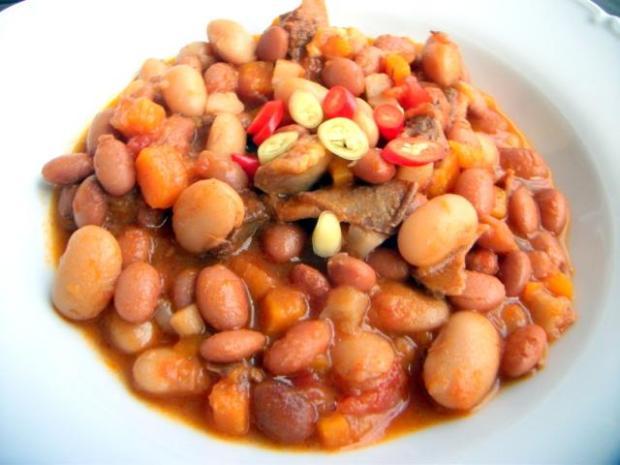 Jahňacia polievka s fazuľou - recept