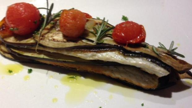 Prekladaný filet z ryby s baklažánom - recept