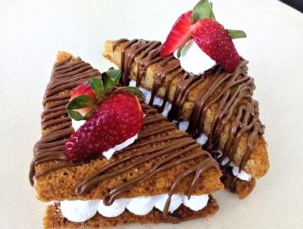 "Domáci ""toast"" na sladko - recept"