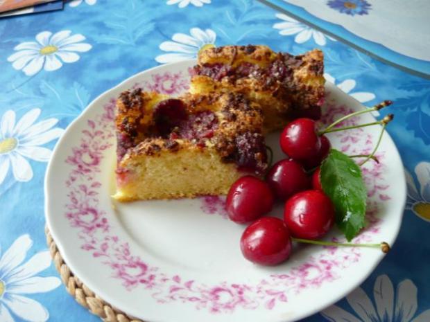 Višňová bublanina s margotkou - recept